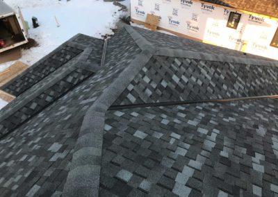roof peak construction