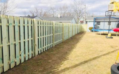 Wood Fencing in the Fox Valley