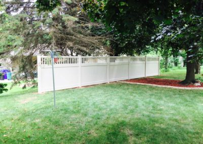 vinyl fence segment