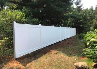 vinyl fence wood