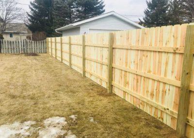 wood fence picket