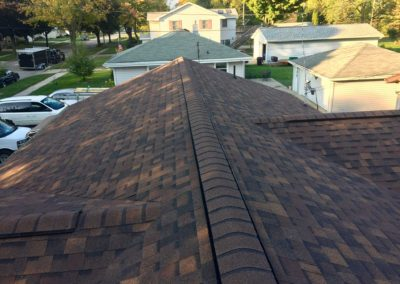 new roof peak
