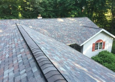new chimney roof